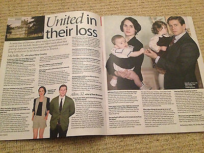 UK Allen Leech Michelle Dockery Interview Take It Easy Magazine Downton Abbey