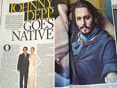JOHNNY DEPP interview FRANCIS ROSSI UK 1 DAY ISSUE BRAND NEW CIARAN HINDS