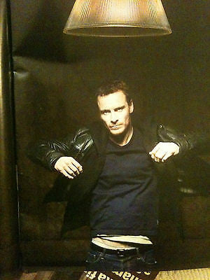 MICHAEL FASSBENDER IRISH HUNK ON PLAYING A SEX ADDICT TIMES 22 JAN 2012 MAGAZINE