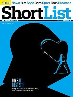 STAR WARS Darth Vader Chris O'Dowd Viggo Mortensen Gerard Butler Shortlist ~NEW~