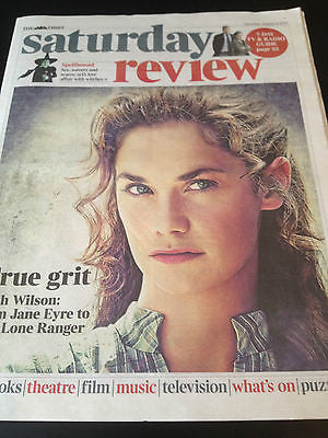 Times Saturday Review - Ruth Wilson August 2013 Downton Abbey Bjork Sean Harris