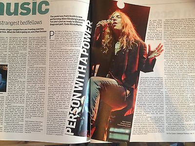 PATTI SMITH interview RYAN GOSLING HOLLY HUNTER UK NEW 1 DAY ISSUE BILL RYDER