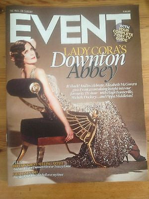 ELIZABETH McGOVERN interview DOWNTON ABBEY 1 DAY ISSUE GRAHAM NASH JONI MITCHELL