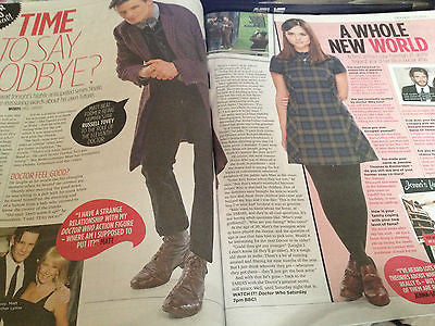 TV MAGAZINE 18.5.2013 DR WHO JENNA LOUISE COLEMAN EDDIE IZZARD GEORGIA MAY FOOTE