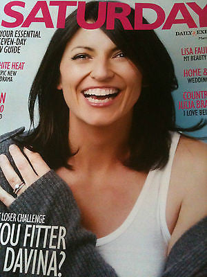 Saturday Mag: DAVINA MCCALL CLAIRE FOY BIANCA SCOTT TONY BRITTON LISA FAULKNER