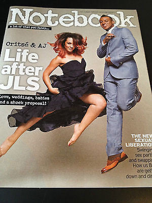 NEW Notebook Magazine Oritse & AJ Liz Carling Geoffrey Palmer Lily Collins