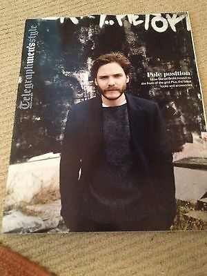 DANIEL BRUHL interview THE SEX PISTOLS UK 1 DAY ISSUE GARY KEMP SPANDAU BALLET