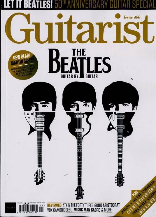 UK Guitarist Magazine July 2020: The Beatles Paul McCartney