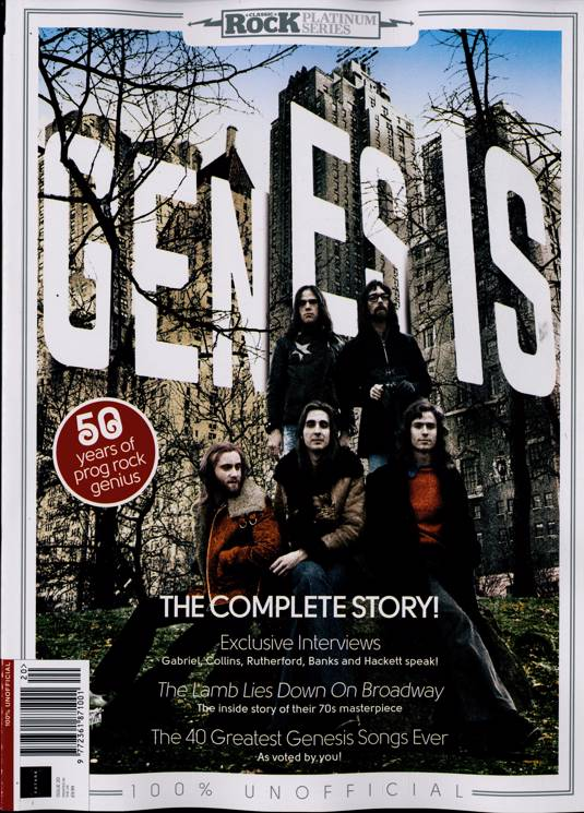 Classic Rock Platinum Series Magazine Issue NO 20 Genesis Phil Collins