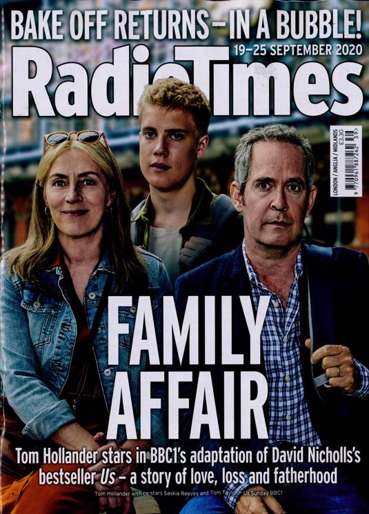 Radio Times Magazine 19 Sept 2020 TOM HOLLANDER Henry Cavill MILLIE BOBBY BROWN