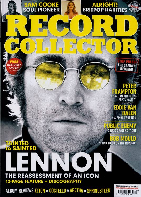RECORD COLLECTOR magazine December 2020 #512 - JOHN LENNON The Beatles VAN HALEN