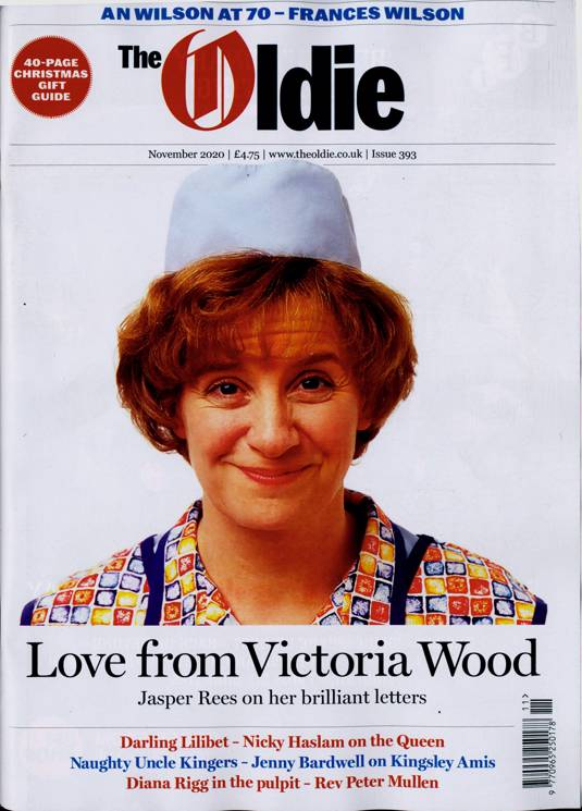 Oldie Monthly Magazine November 2020 Victoria Wood