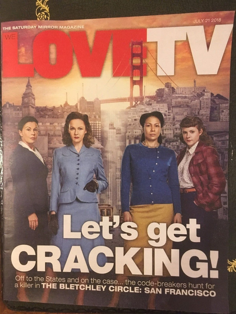 UK LOVE TV magazine July 2018: Sean Bean Rachael Sterling Julie Graham