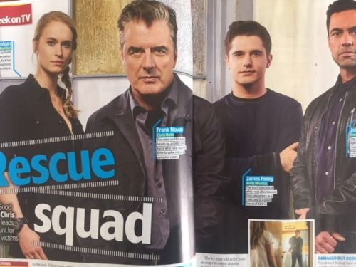 UK TV & Satellite Magazine 17 March 2018 David Boreanaz Chris Noth Courteney Cox