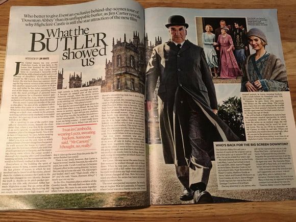 UK EVENT Magazine January 2019 JIM CARTER Downton Abbey JAMES BOND John Barry