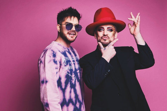 Gay Times Magazine December 2017 Adam Lambert interviews Boy George