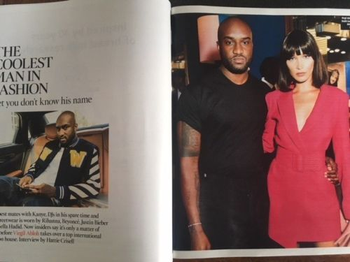 UK Times Magazine January 13th 2018 AUREY TAUTOU VIRGIL ABLOH