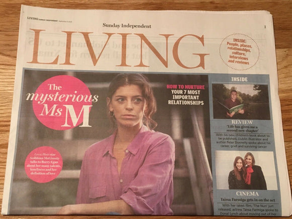 Irish Living September 2018: KYLIE MINOGUE Aoibhinn McGinnity TAISSA FARMIGA