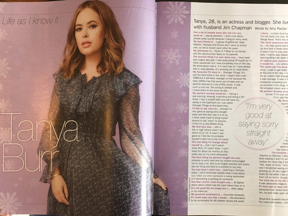UK S Magazine December 2017 Mark Gatiss Tanya Burr Greg Davies Sandy Gall