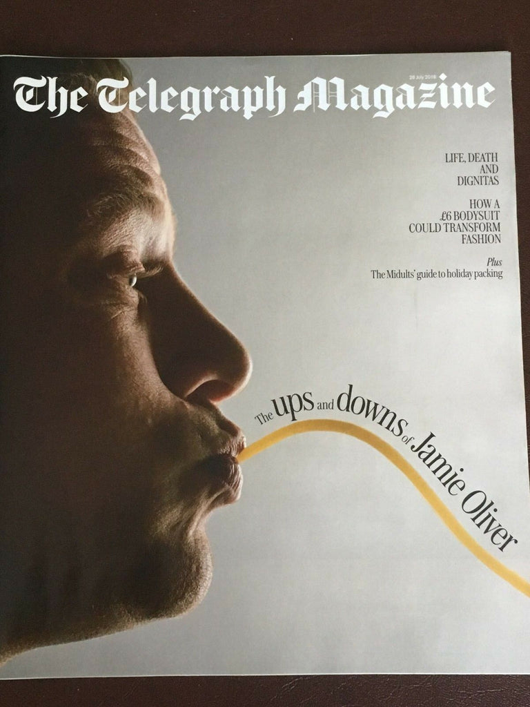 UK TELEGRAPH Magazine July 2018: JAMIE OLIVER The Beatles TOM BUSSMANN