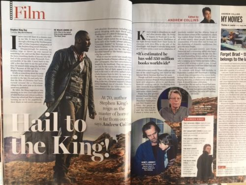 Radio Times Magazine August 12 2017 Rory Kinnear Stephen King Richard Osman