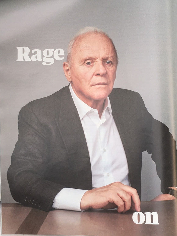 UK Guardian Weekend Magazine May 2018: CHELSEA CLINTON Anthony Hopkins AKALA