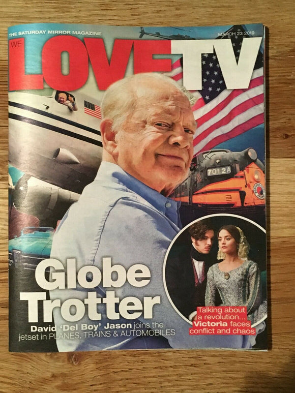 Love TV Magazine 23 March 2019: Jenna Coleman & Tom Hughes - David Jason Cover
