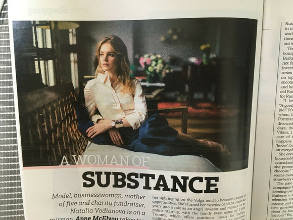 UK Style magazine 11 Aug 2019 LINEISY MONTERO - Natalia Vodianova interview