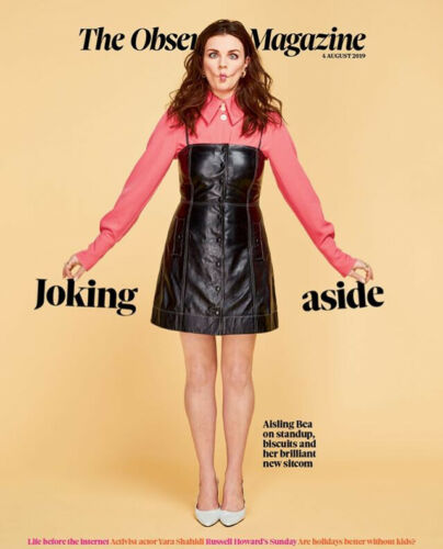 UK Observer Magazine June 2019 YARA SHAHIDI Aisling Bea RUSSELL HOWARD