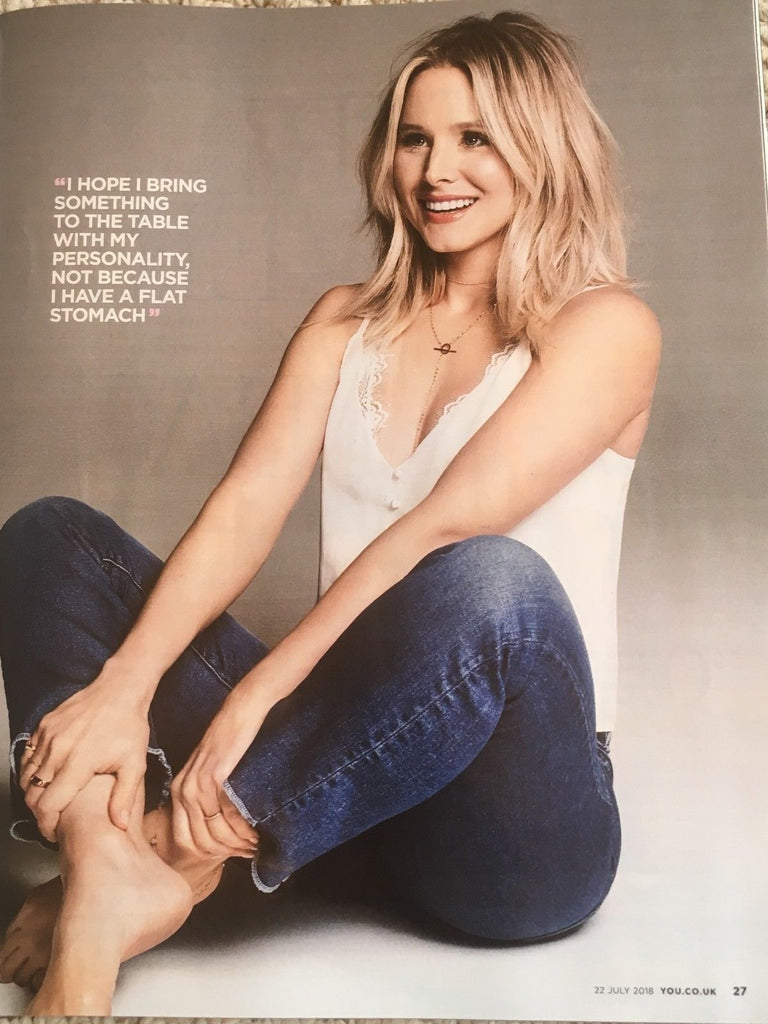 YOU magazine July 2018: Kristen Bell (Frozen) Cover Interview (Brian Littrell)