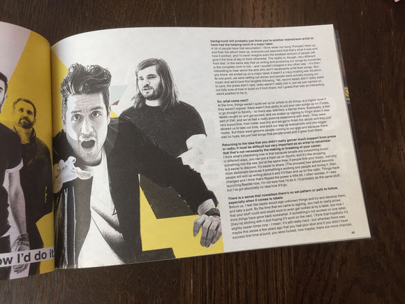 UK DIY Magazine Summer 2018 Bastille Interview