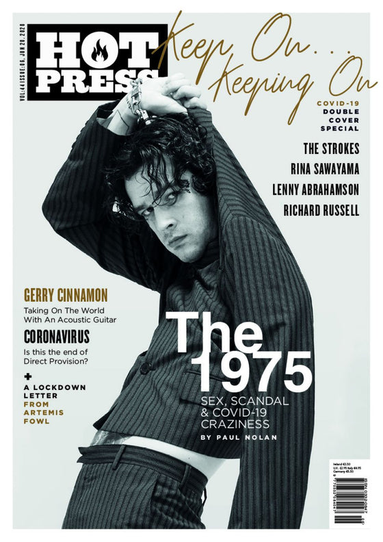 HOT PRESS MAGAZINE 44-06: THE 1975 - MATTY HEALY