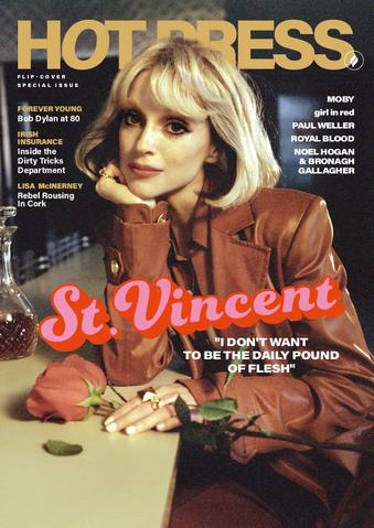 HOT PRESS ISSUE 45-05: ST VINCENT COVER FEATURE