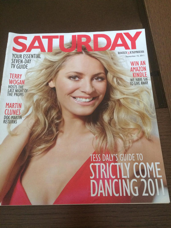 UK Saturday Magazine September 10 2011 Martin Clunes Terry Wogan Tess Daly