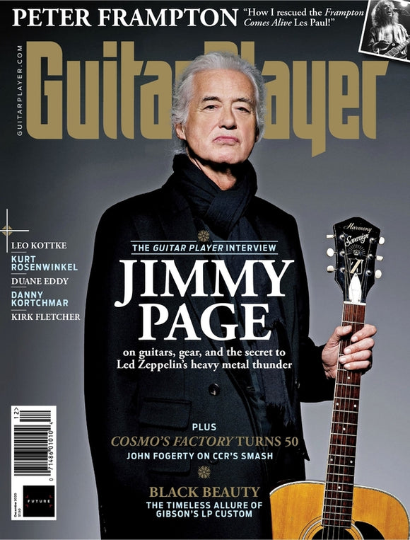 Guitar Player Magazine December 2020 Jimmy Page Led Zeppelin