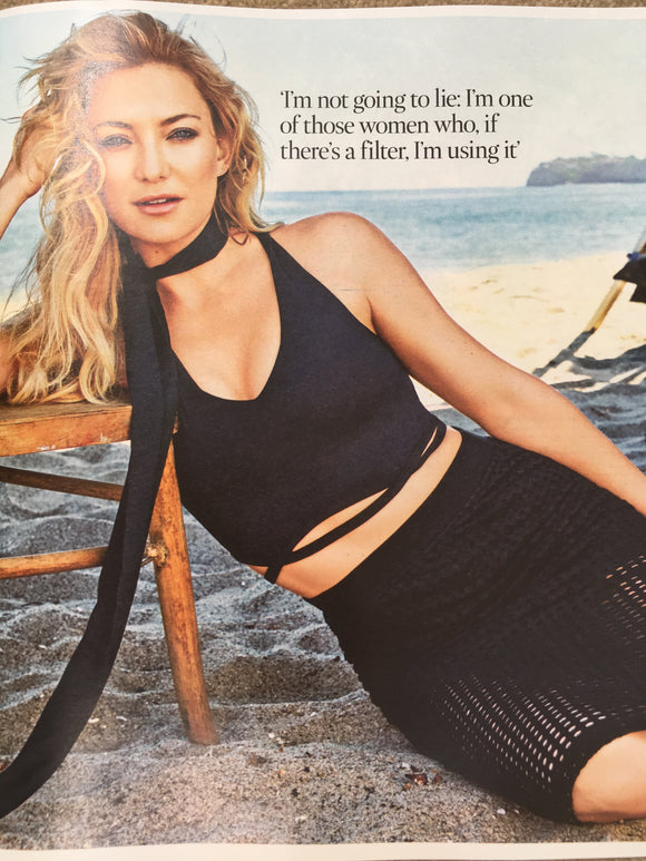 UK Times magazine 29 July 2017 Ethan Hawke Photo Interview - Kate Hudson