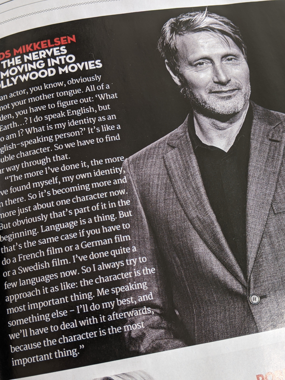 UK Total Film Magazine May 2021 The Suicide Squad Subscribers Cover - Mads Mikkelsen