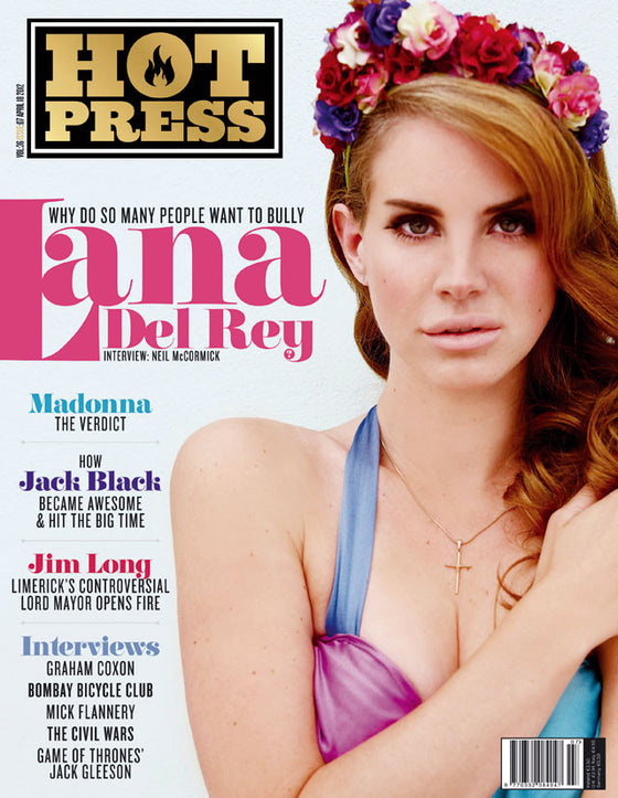 Hot Press Magazine April 2012 Lana Del Rey Cover Interview