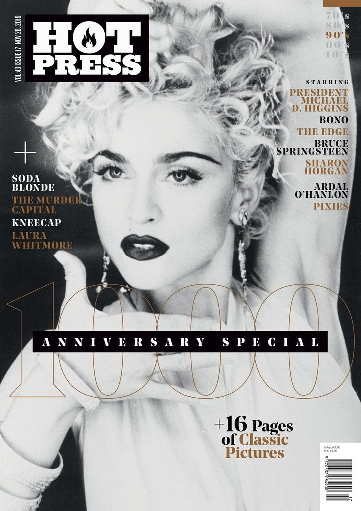 HOT PRESS 43-17: THE 1000TH ISSUE SPECIAL - The Madonna Cover