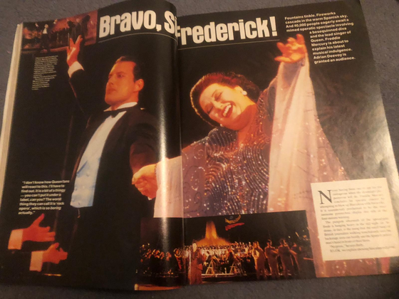 Q Magazine Issue 27 Dec 1988 - An Audience With Freddie Mercury Queen