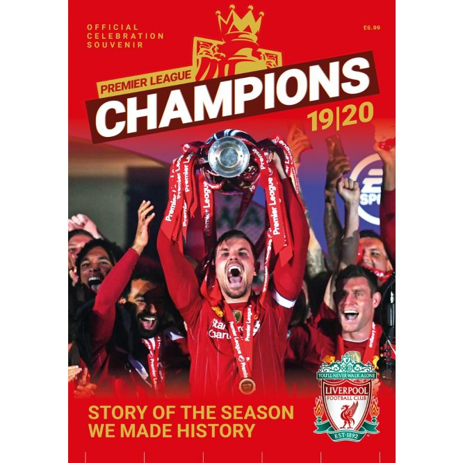 Liverpool FC Champions: Premier League Winners 19/20 - Story Of The Season We Made History