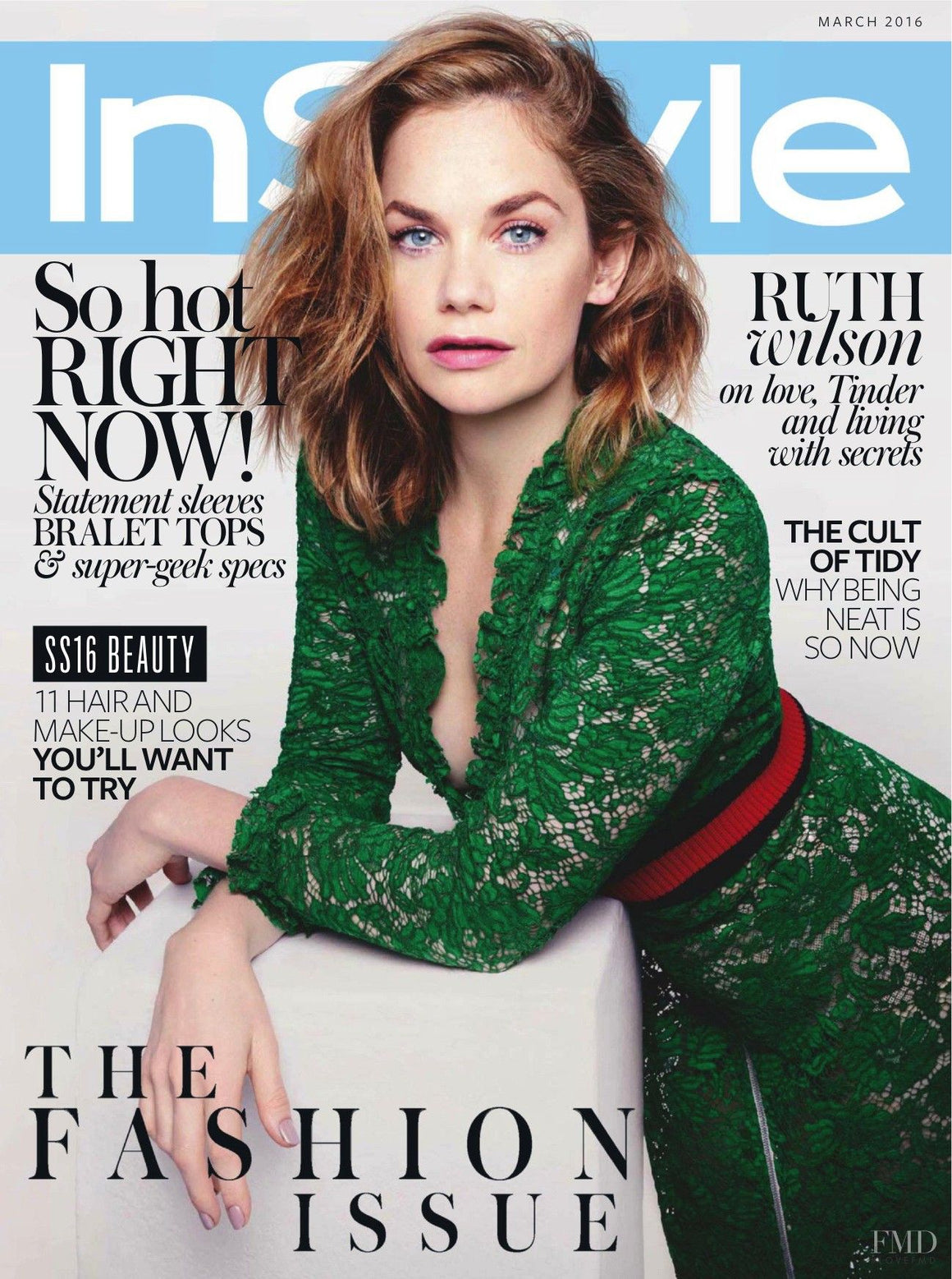 Ruth Wilson InStyle UK cover March 2016