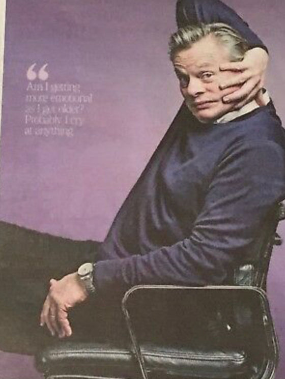 UK TIMES WEEKEND Feb 2019: MARTIN CLUNES Photo Interview