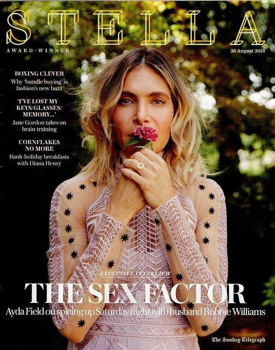 STELLA Magazine 26th August 2018 AYDA FIELD on Robbie Williams and more!