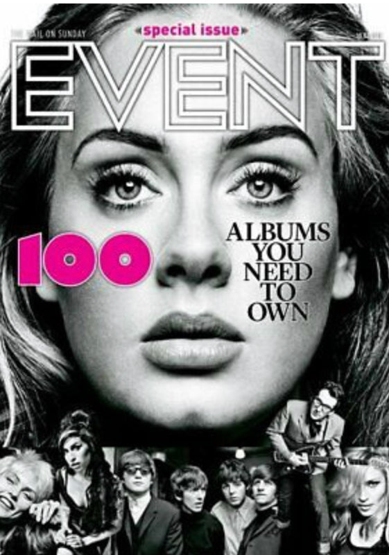 UK Event Magazine February 2019: ADELE cover Madonna TEARS FOR FEARS Judi Dench