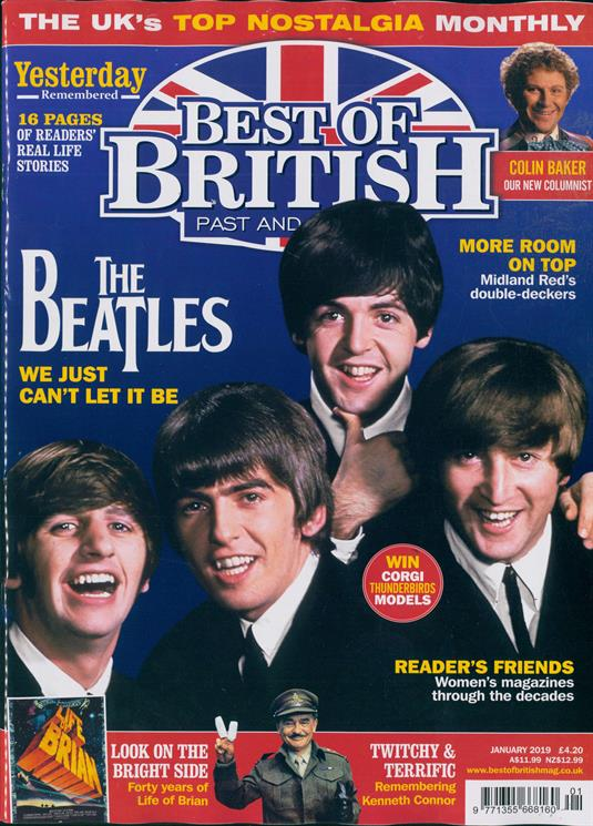 Best of British Magazine Jan 2019 The Beatles Cover Story Paul McCartney