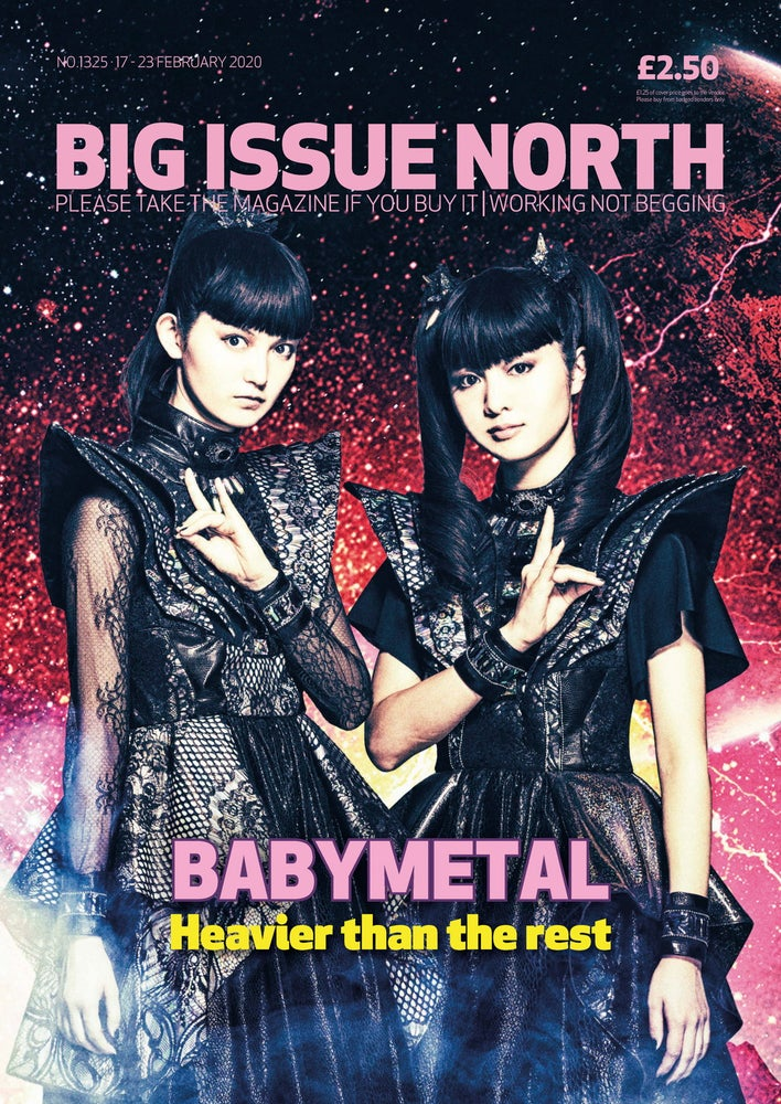 Big Issue North Magazine 17 February 2020: Babymetal