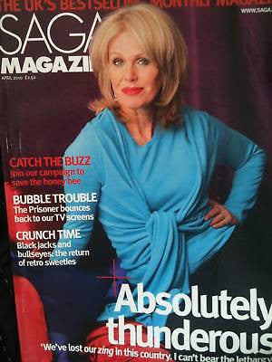 JOANNA LUMLEY Julie Andrews Lou Reed Saga Mag ~NEW~