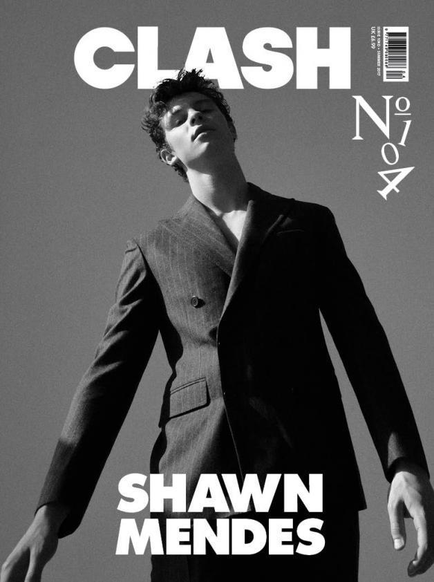 SHAWN MENDES PHOTO COVER INTERVIEW UK CLASH MAGAZINE ISSUE 104 NEW