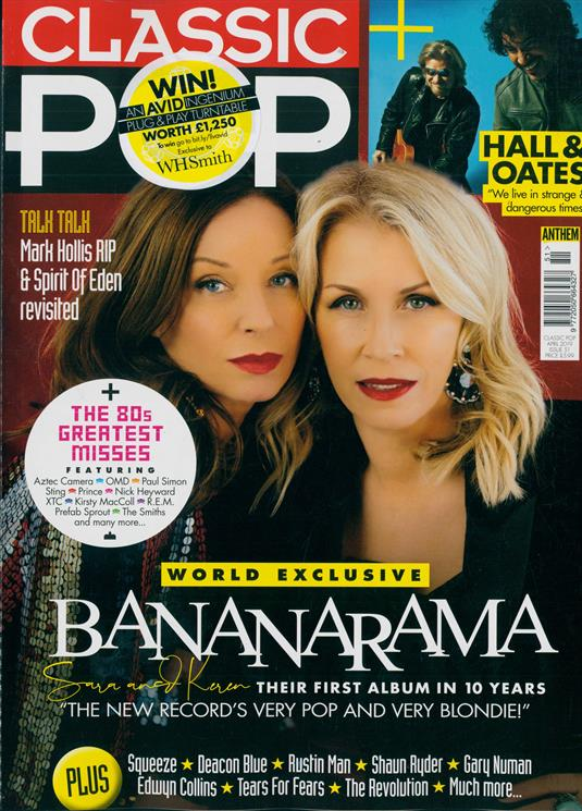 UK Classic Pop Magazine April 2019: BANANARAMA Gary Numan EDWYN COLLINS